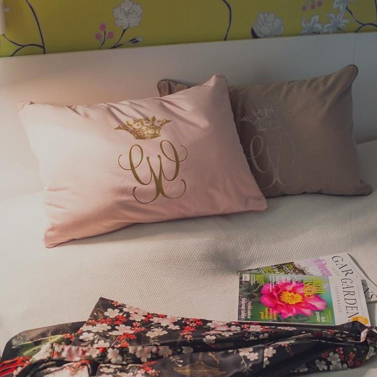 Kuddfodral Royal rosa 40 x 60-CAROLINA GYNNING