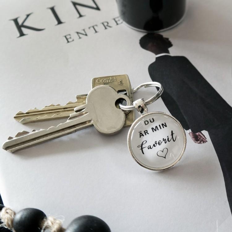Nyckelring Favorit