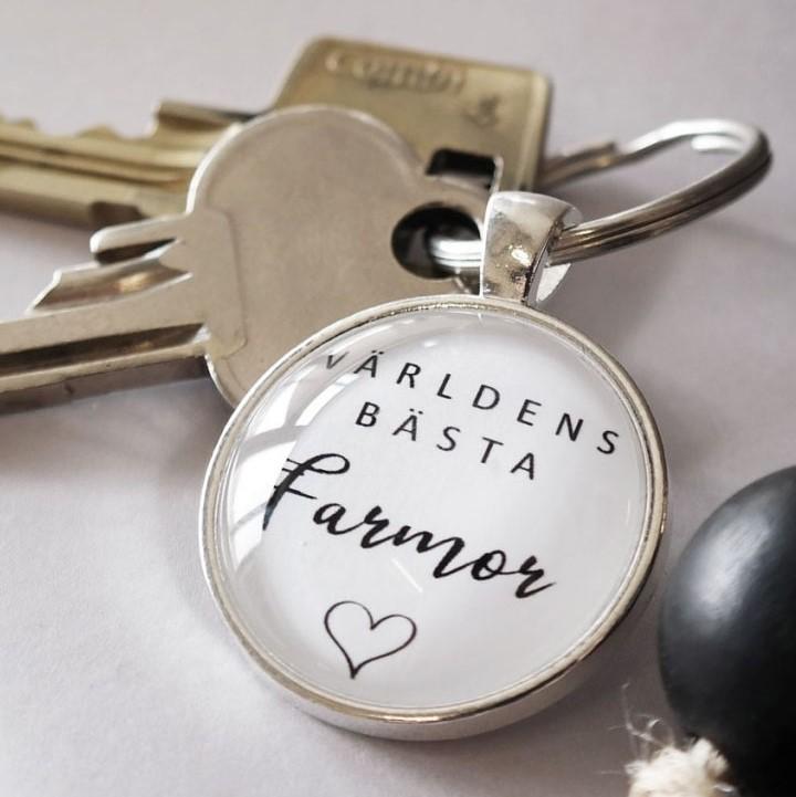 Nyckelring Världen bästa Farmor