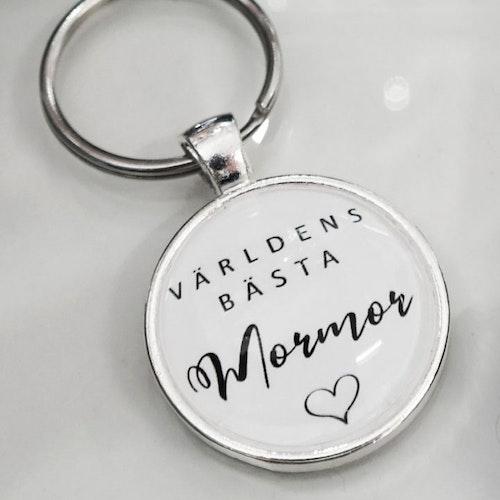 Nyckelring Världen bästa Mormor