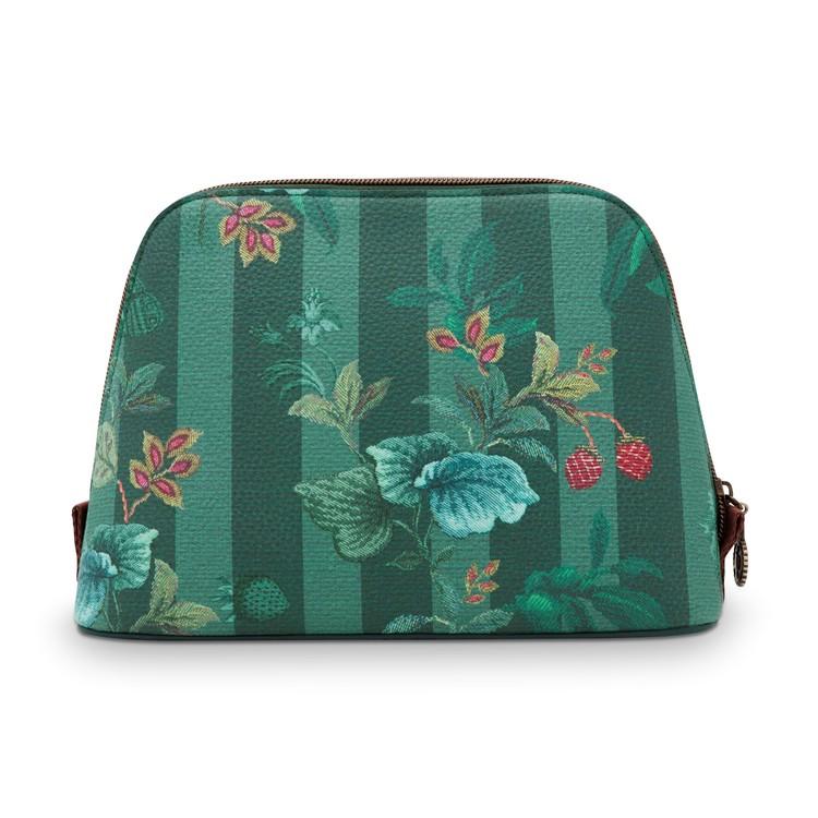 Necessär Leafy Stitch grön- PIP  STUDIO