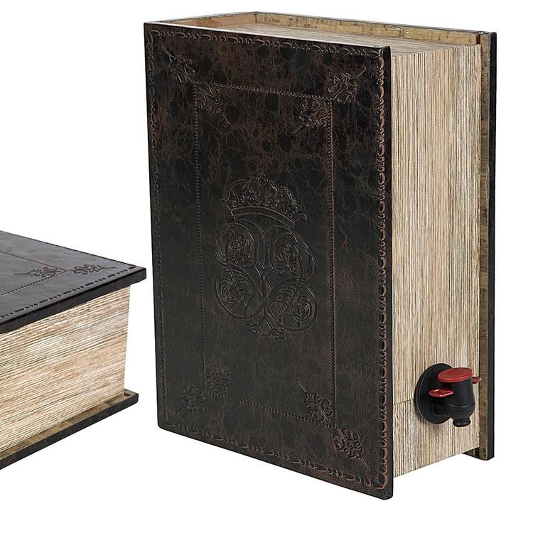 Vinbox boklåda