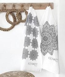 Kökshanddukar Mandala 2-pack-KRAAM