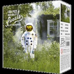 Pussel-Astronaut