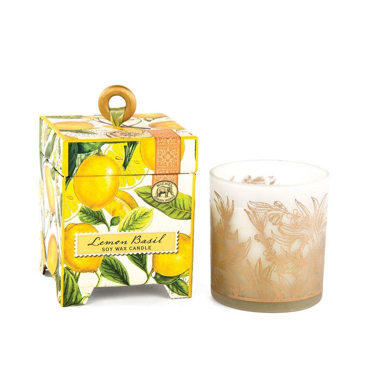 Doftljus Lemon Basil - MICHEL DESIGN WORKS