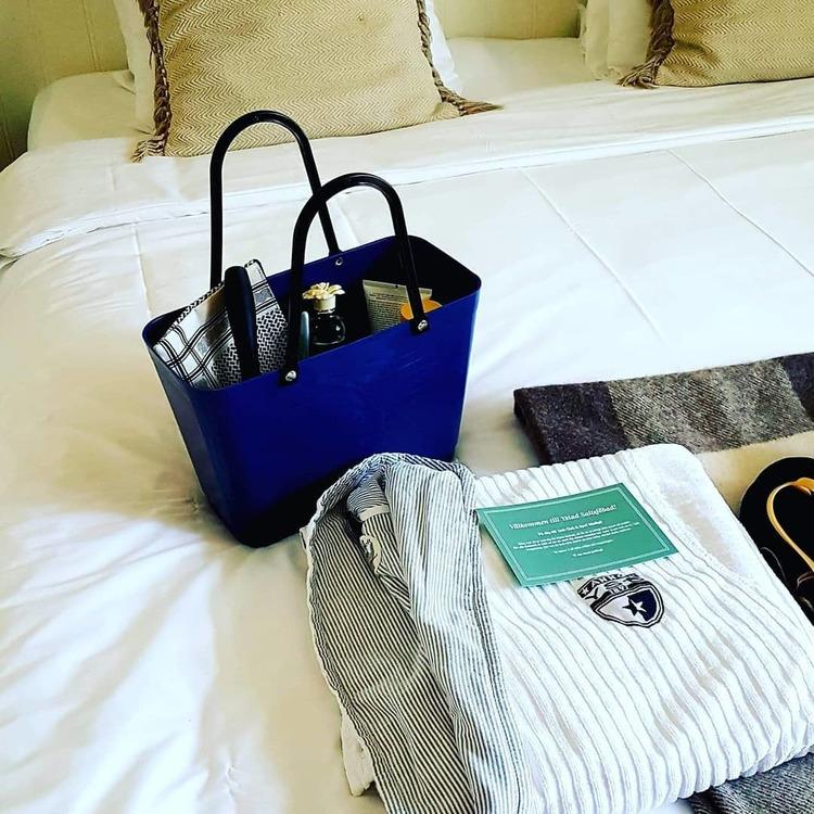 Hinza väska liten blå