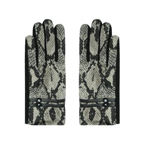 Handskar snake grå