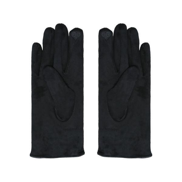 Handskar svarta rosett