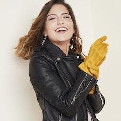 Handskar mocka senap