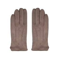 Handskar mocka beige