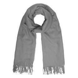 Halsduk fransar grå