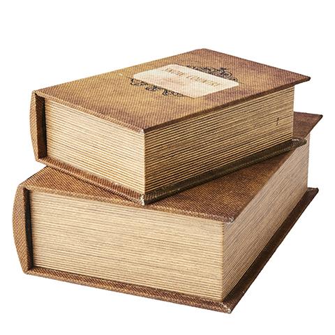 Boklådor beige 2-pack
