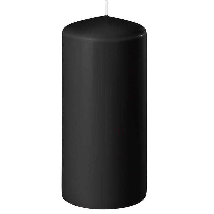 Blockljus svart 15 cm