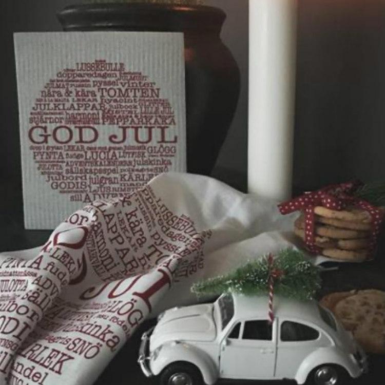 Disktrasa God Jultext