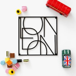 City trivet London-Men at Work