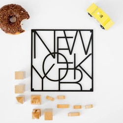 City trivet New York-Men at Work