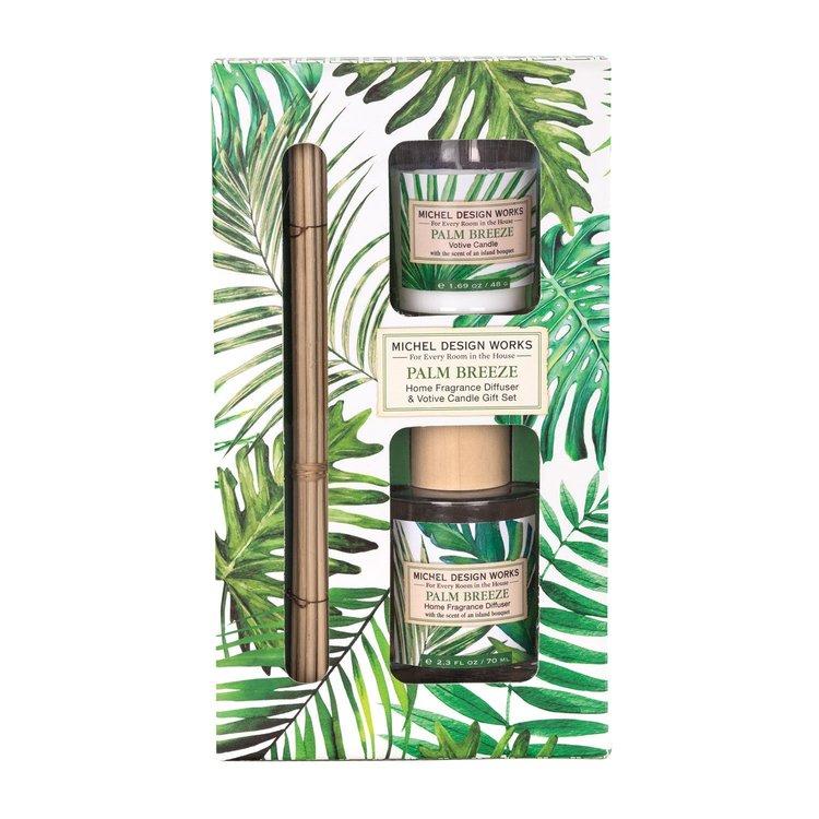 Doftljus & Doftpinnar Palm Breeze- MICHEL DESIGN WORKS