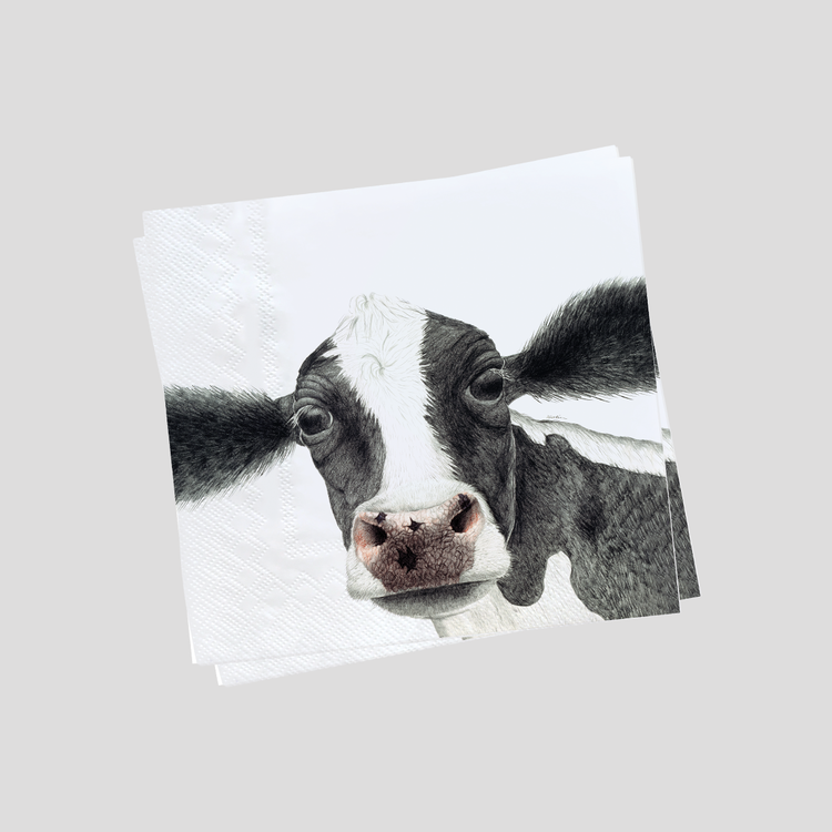 Servetter kossa- CHARLOTTE NICOLIN