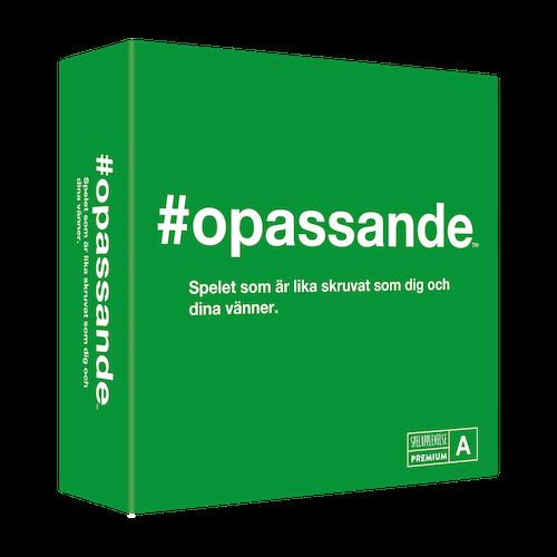 Spel-#opassande
