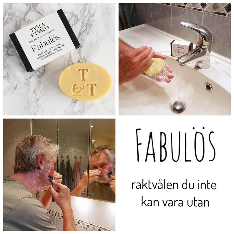 Tvål Fabulös (även raktvål)