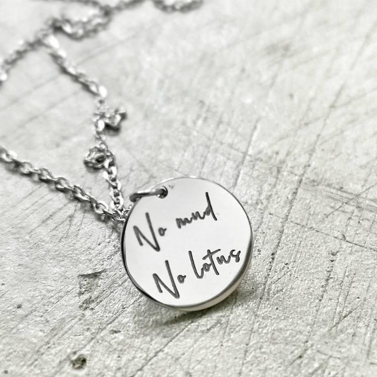 """Halsband """"No mud No lotus"""" - YOGIA"""