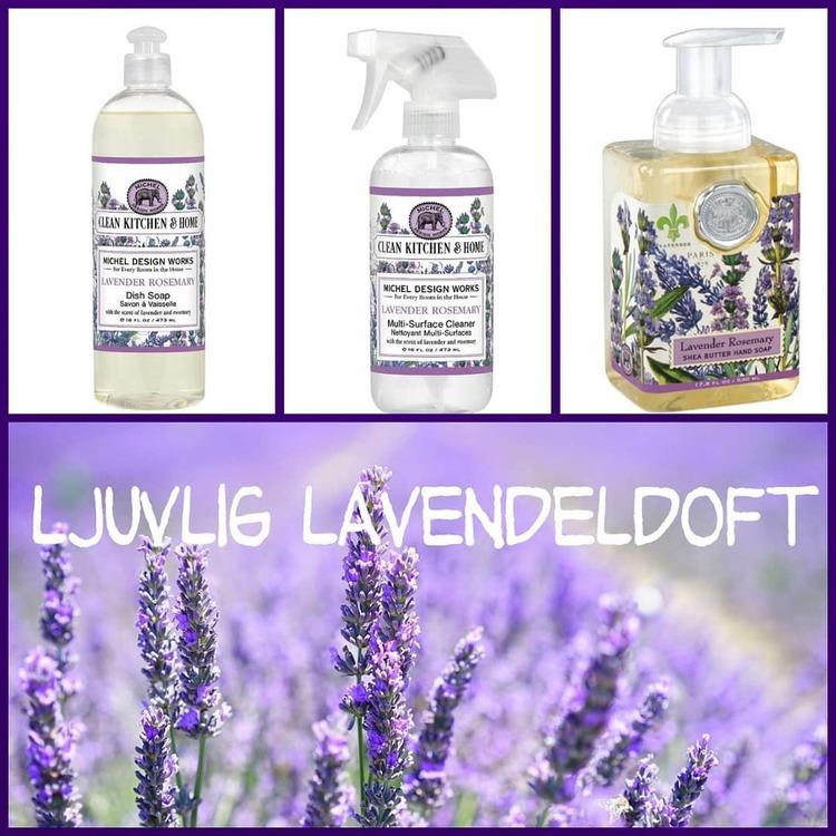 Diskmedel Lavendel-MICHEL DESIGN WORKS