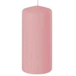 Blockljus rosa 15 cm