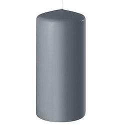 Blockljus grå 15 cm