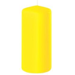 Blockljus gul 15 cm