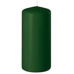 Blockljus grön 15 cm