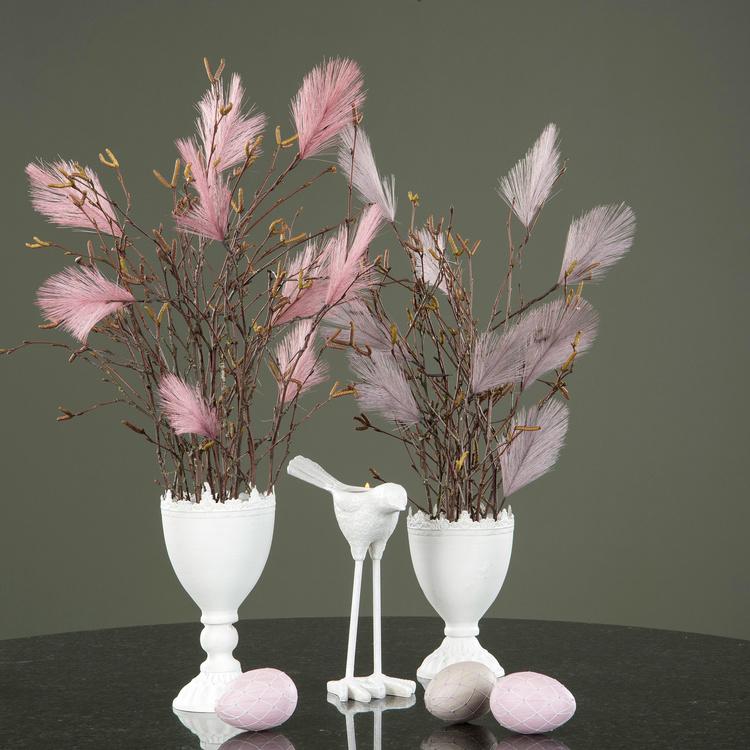 Påskfjädrar syntetiska lila