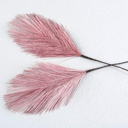 Påskfjädrar syntetiska rosa