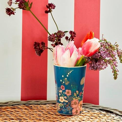 Mugg hög Flower Collage - RICE