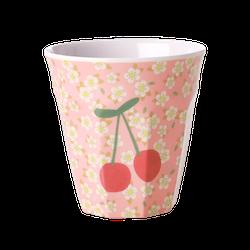 Mugg körsbär & blommor- RICE