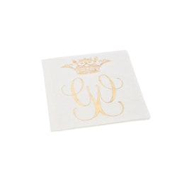 Servetter Royal vit- CAROLINA GYNNING