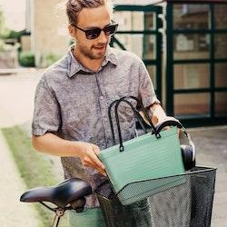 Hinza väska liten olivgrön -green plastic