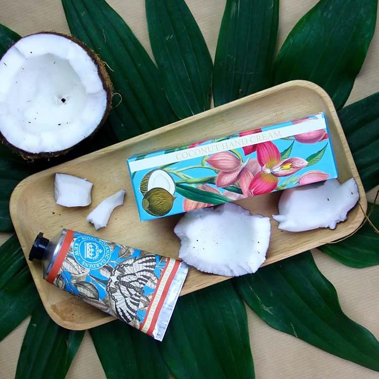 Handkräm Coconut-KEW GARDENS