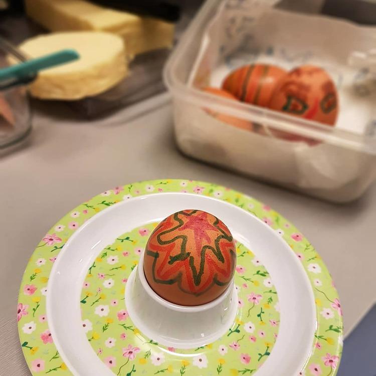 Äggkopp grön- RICE