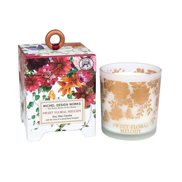 Doftljus Sweet Floral Melody-MICHEL DESIGN WORKS