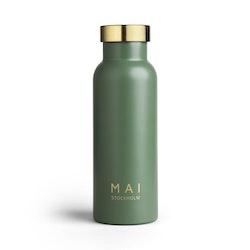 Vattenflaska grön - MAI STOCKHOLM