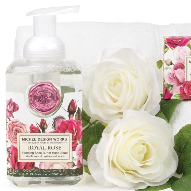 Skumtvål Royal Rose-MICHEL DESIGN WORKS