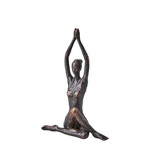 Staty Yoga Sittande twist