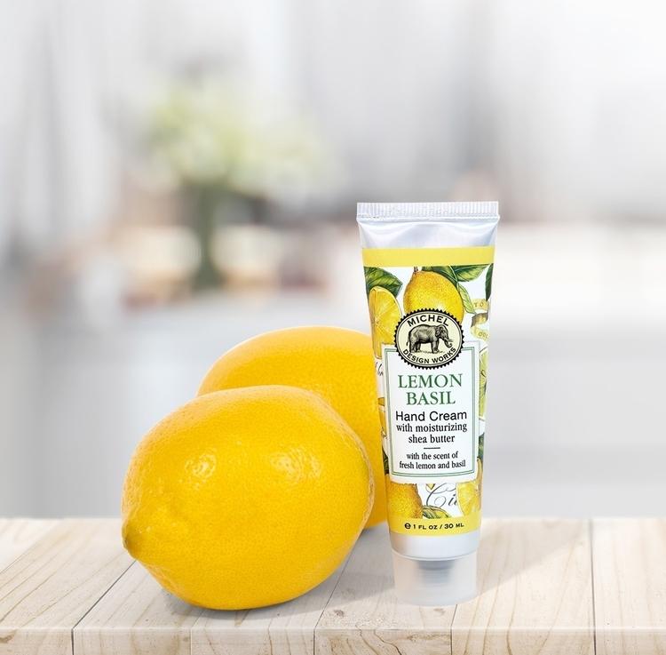 Handkräm Lemon Basil  -MICHEL DESIGN WORKS