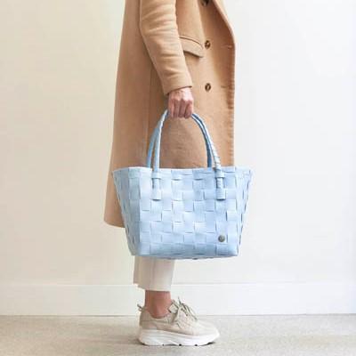 Väska Paris blekblå- HANDED BY
