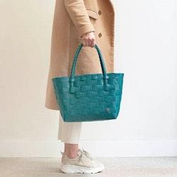 Väska Paris påfågelgrön- HANDED BY