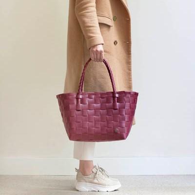 Väska Paris vinröd- HANDED BY
