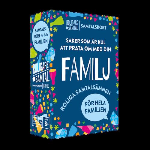 Spel Samtalskort-Familj
