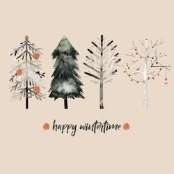 Servetter Happy Wintertime