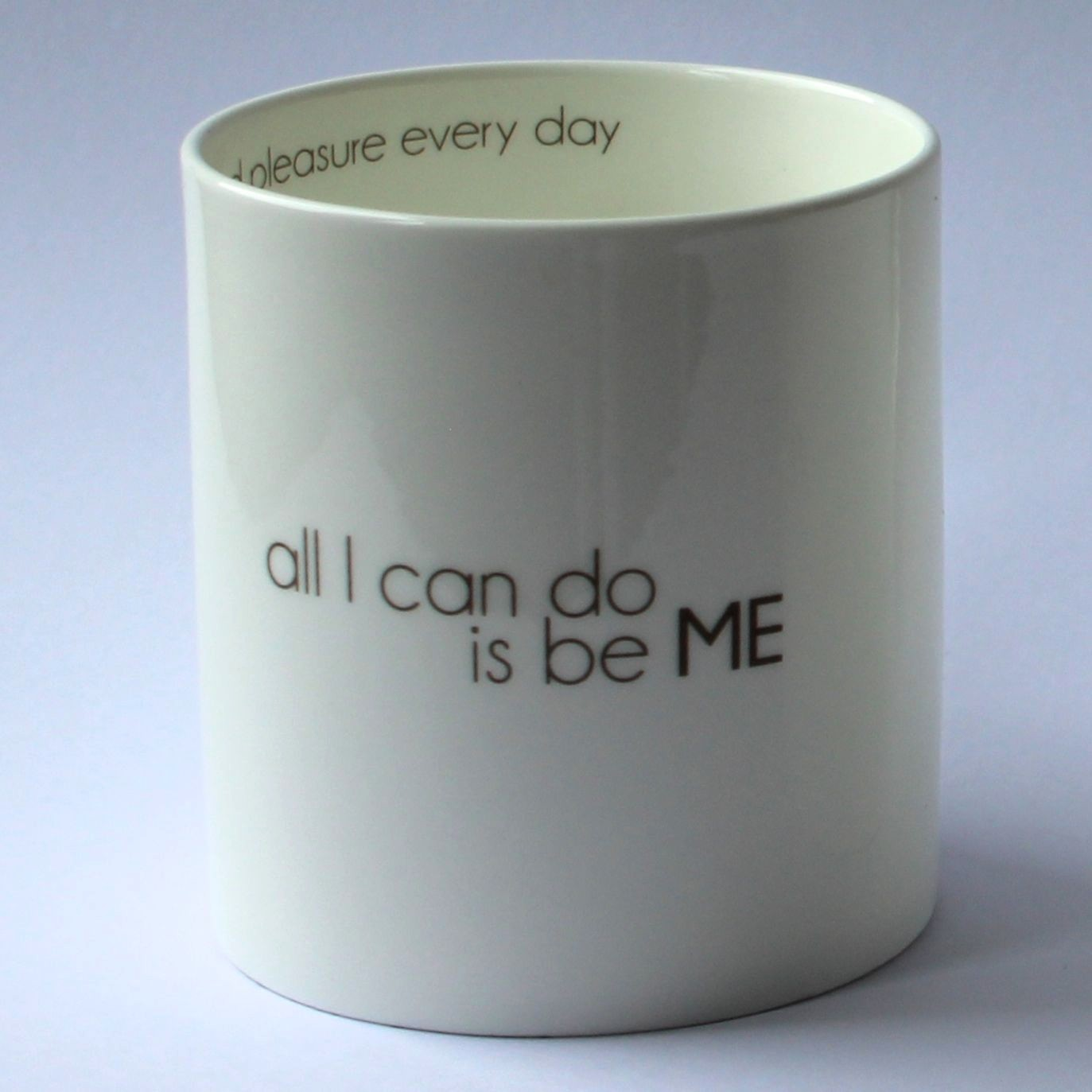 Mugg ...be ME-I LOVE DESIGN