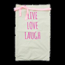 Förkläde Live Love Laugh-RICE